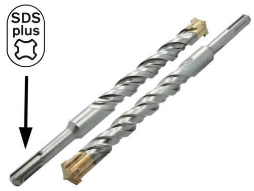 5 x SDS-PLUS Hammerbohrer Betonbohrer Ø 8 x 110 mm Quadro Stein Maurwerk Bohrer
