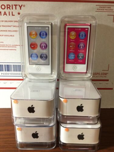 Apple iPod nano 16gb Silver or Pink ~ New sealed in Apple retail box