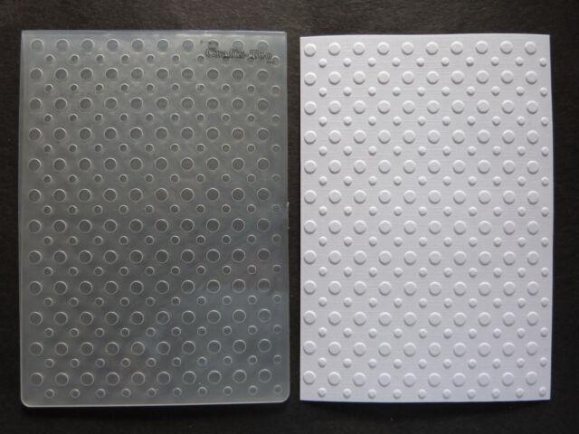 Crafts Too A6 Embossing Folder SPOTS CTFD3020