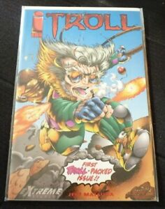 Soft-Cover-Comic-Book-Troll-1-1993-Image-Comics-VF