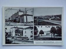 DIVACCIA stazione treno autobus bus Divača Slovenia Slovenija vecchia cartolina