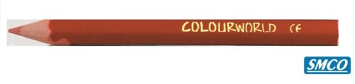 Mini Colouring Pencils COLOURWORLD Half Size PARTY BAG STOCKING FILLER  Pack 6