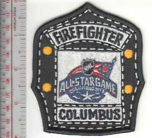 Dallas Fire Department /& Dallas Stars Hockey Promo Shield Patch sm