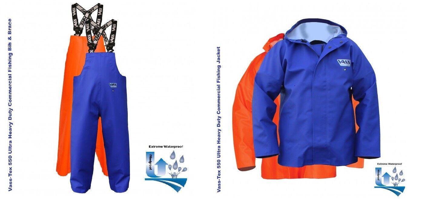 Vass Extreme Pesca  Aguaproo Aceite Piel Bib & Brace con Chaqueta o azulsón  suministro directo de los fabricantes