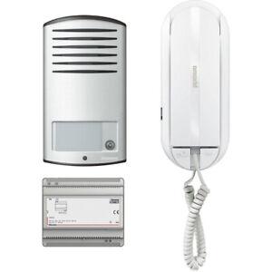 Citofono Bticino Linea 2000.Dettagli Su Bticino 366811 Citofono Kit Audio 2 Fili Monofamiliare Linea 2000