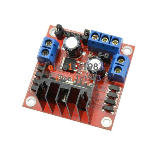 2PCS 25W L298N Dual HBridge DC Stepper Motor L298N Drive Controller Board Module