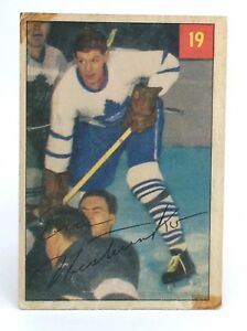 1954-55-Eric-Nesterenko-19-Toronto-Maple-Leafs-Parkhurst-Hockey-Card-G938