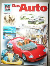 XXXX Was ist was , Das Auto ,  Band 53 , Cover CC ,  Tessloff