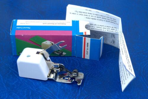 Side Cutter SEW /& HEM Overlock Attachment Sewing Foot Overlocking Sewing Machine
