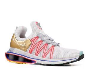 0ce3febbd4a5e8 Nike Shox Gravity AQ8553-009 Vast Grey Metallic Gold Running Shoes ...