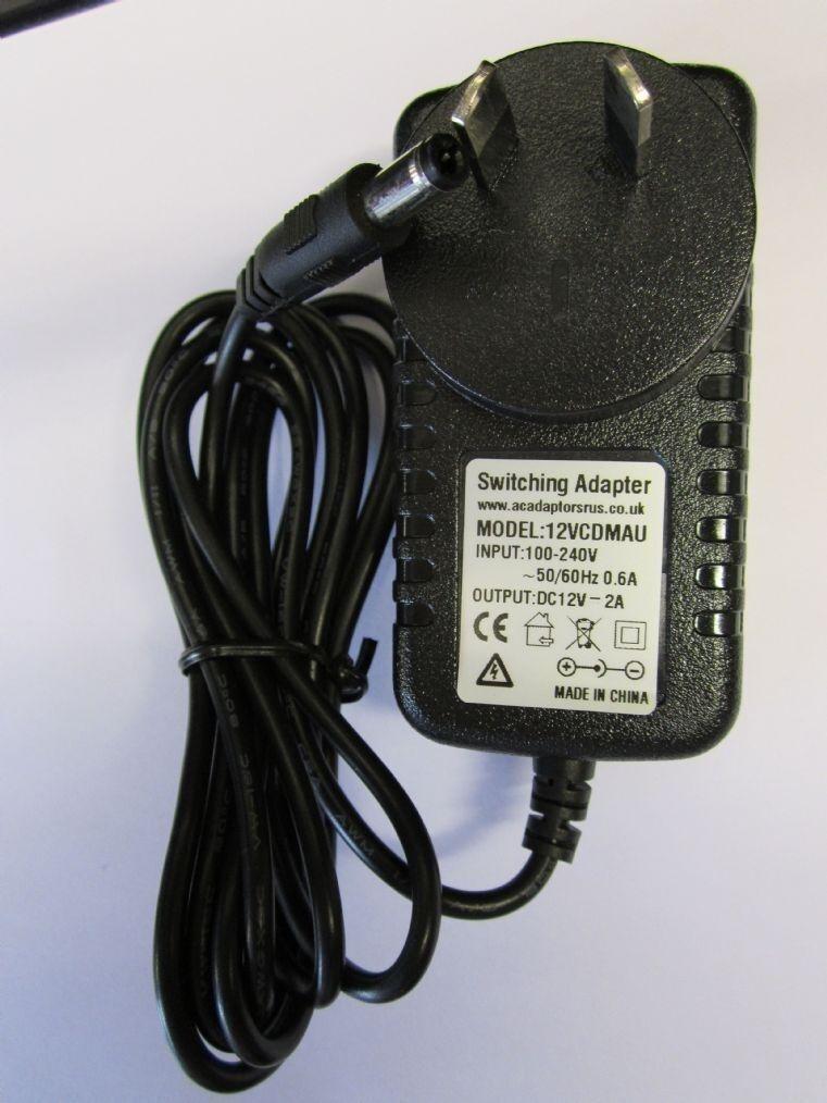 AUS AU Pure Oasis Flow DAB Radio 12V Mains AC Adaptor Charger Power Supply