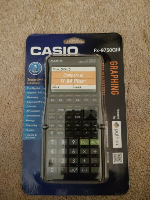 Casio FX-9750G111 Graphing Calculator *BRAND NEW & SEALED*