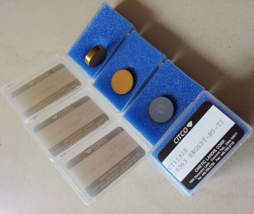 """RNGN 190400 fits RNM//RNMN 3//4/"""" Full Solid Top CBN//PCBN on Carbide Insert RNG 63"""