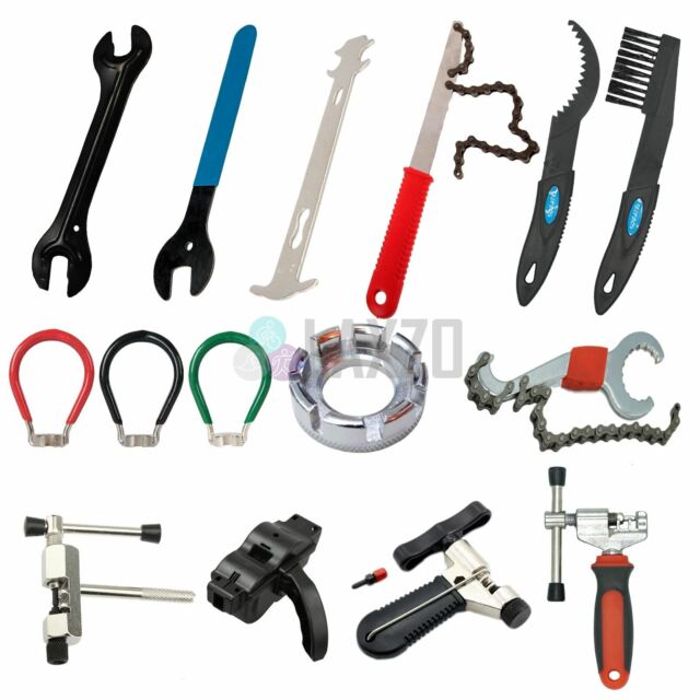 Multi-use Cycling Mountain Bike Bicycle Repair Tools Allen key spoke Wrench SS