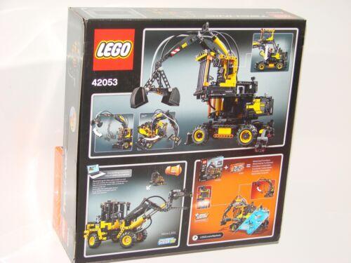 LEGO® Technic 42053+8293 Volvo EW160E L30G+Power Functions Tuning-Set/_ verklebt!