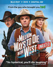 A Million Ways to Die in the West (Blu-ray/DVD, 2014, 2-Disc Set, Includes Digital Copy Ultraviolet)