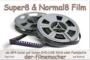 10-x-15m-Super-8-Pellicola-Scansione-come-mp4-Dati-Super8-Stretta-Filmtransfer