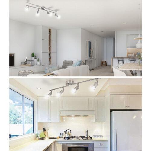 wowatt LED Deckenstrahler 4 flammig Deckenleuchte Küche 5W 6W GU10 Warmweiss