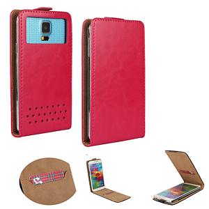 Samsung-Galaxy-J2-2017-Handy-Huelle-Tasche-Schutzhuelle-Flip-S-Pink