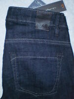 Christopher Blue Mid Stretch Boot Womens Blue Denim Jeans Size 0 X 34 $165