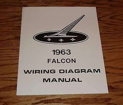 1962 ford falcon wiring diagram 1963 ford falcon wiring diagram manual 63 ebay  1963 ford falcon wiring diagram manual
