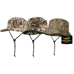 55d725ddf44 Image is loading DRAKE-WATERFOWL-SYSTEMS-CAMO-WATERPROOF-BOONIE-HAT-BUCKET-