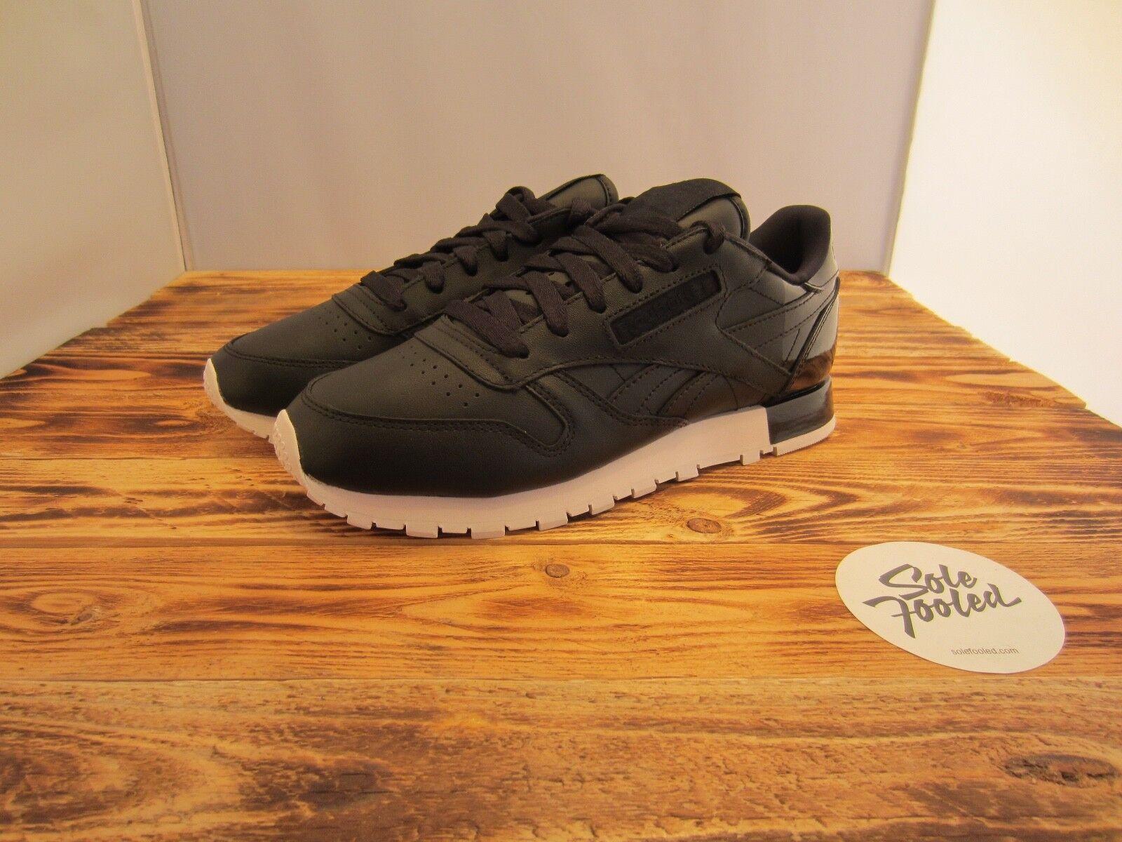 Reebok CL LTHR Matte Shine schwarz AR0850 Classic Leder/Lamar/Sneaker/OG/NEU