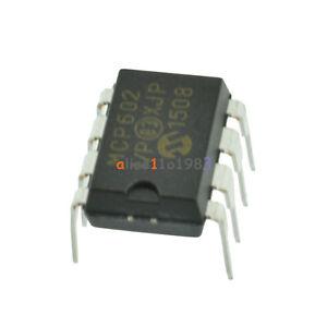 10pcs-MCP602-I-P-IC-OPAMP-DUAL-SNGL-8-DIP-GOOD