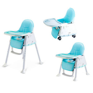 3 In 1 Baby Child Toddler High Chair Eating Feeding Table Booster