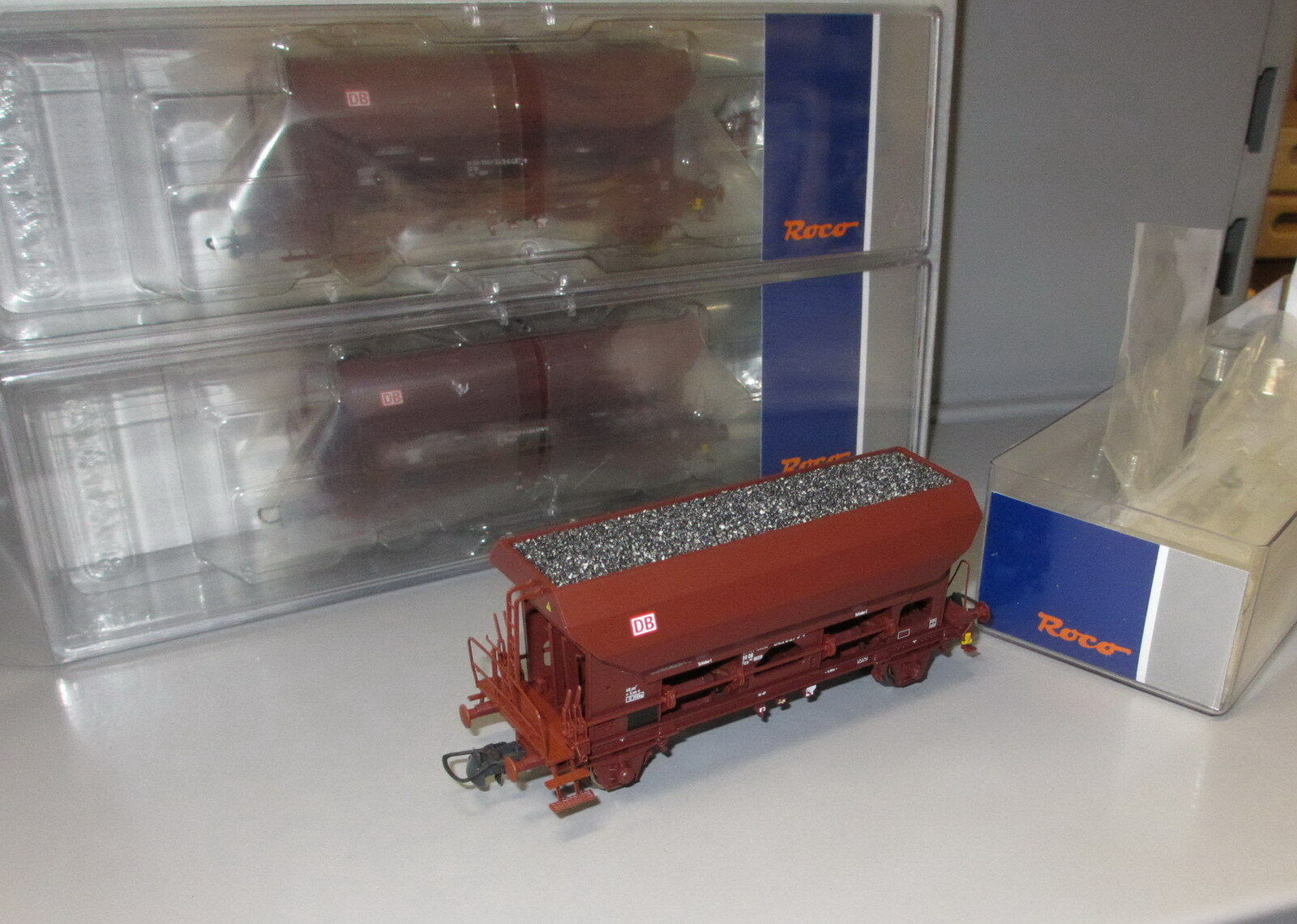 Roco h0 76170 DB AG 3 piezas de set selbstentladewagen schüttgutwagen _ PE  V