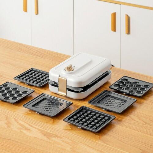 Sandwich Machine Multi-Function Breakfast Maker Household Timing Waffle Light