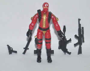 "3.75/"" Gi Joe Cobra Army Soldier With Accessories Rare Figure Gift"