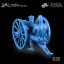 miniature 7 - Plastique peloton US CAVALRY MITRAILLEUSE GATLING avec équipage 1:32 toy soldiers