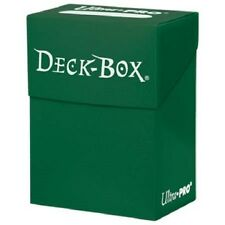 Ultra Pro GREEN DECK BOX (New) Holds 80 Sleeved Magic/Pokemon/Yu-Gi-Oh Cards