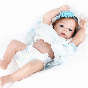 Npkdoll 22'' Silicone Doux Poupée Bébé Fait Main Jouet Réalist Reborn Neuf Doll