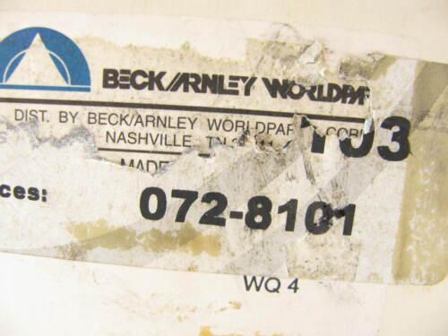 Beck Arnley 072-8101 Clutch Master Cylinder