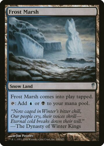 Frost Marsh Coldsnap NM-M Uncommon MAGIC THE GATHERING MTG CARD ABUGames