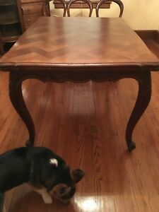 Wondrous Details About Antique Refractor Table Parkay Oak Color Fits 6 With Pull Out Extensions Download Free Architecture Designs Scobabritishbridgeorg