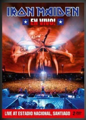IRON MAIDEN - EN VIVO  2DVD   BOX METAL    MUSICALE
