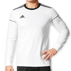 Details zu adidas Performance Squadra 17 LS Jersey weißschwarz Trikot Shirt BJ9187