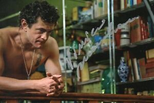 Vinicio-Marchioni-Foto-Autografata-Autografo-Signed-Cinema-Italian-Actor