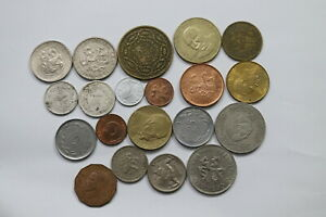 CZECHOSLOVAKIA-OTHERS-WORLD-20-COINS-LOT-A99-JJ8