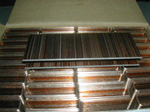 "Spotnails 6612PG 1-1//2/"" 16 Gauge 7//16/"" Crown Staples for Senco N Bostitch 5,000"
