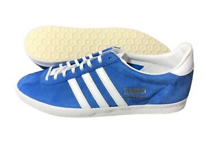 ... Adidas-Originals-Gazelle-OG-Homme-Daim-Baskets-Bleu