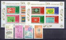 50 Jahre Europamarken, Cept - Türkei - 3487-3490, Bl.58-59 ** MNH 2005