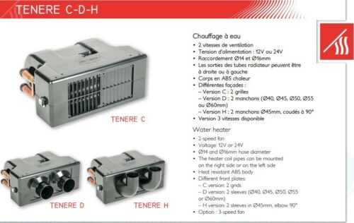 Universal Coolant Heater Heater Webasto Dewasto 4.3kw 12v Type C