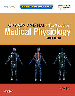 1 of 1 - Guyton and Hall Textbook of Medical Physiology by John E. Hall (Mixed media...