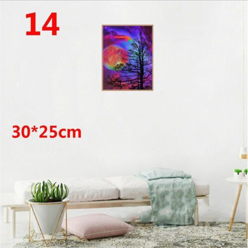 DIY 5D Diamond Painting Flamingos Cross Stitch Rhinestone Decoration Needlework
