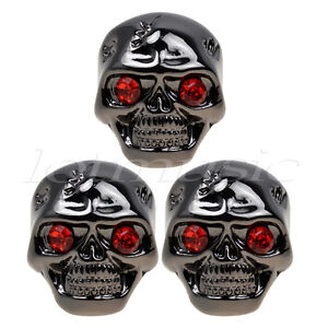 Lucky Number 13 Skull /& Crossbones Guitar Tone Volume Knob Dial Button