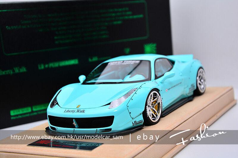 migliore vendita 1 18 18 18 Ferrari 458 Liberty Walk LB  centro commerciale di moda